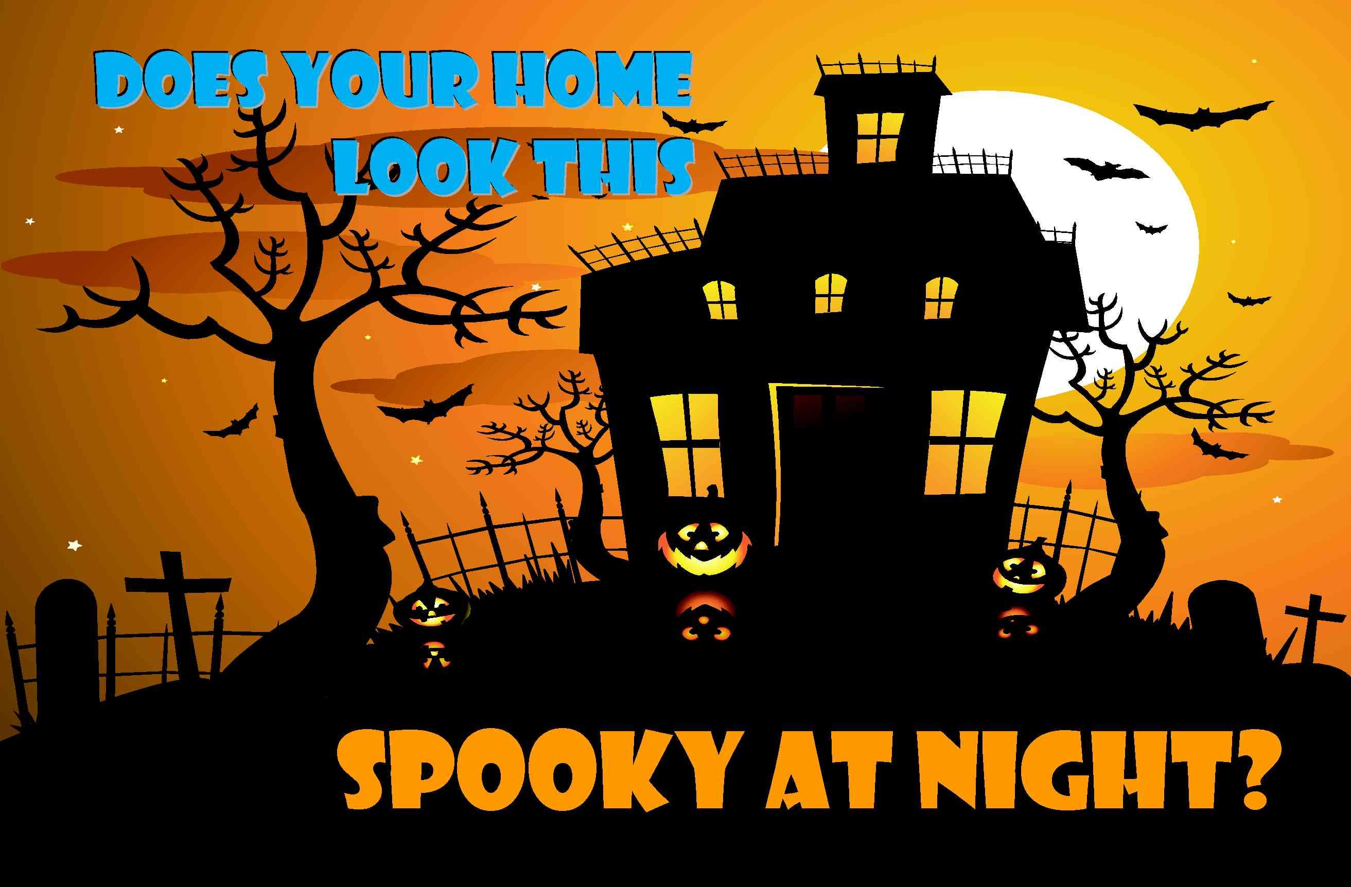 Halloween Security Lights