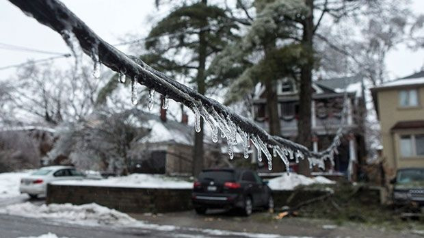 Icicles on Lines