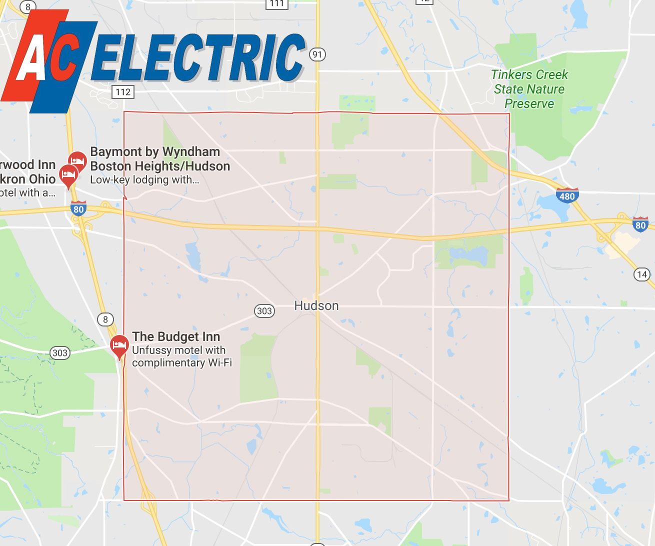 electrician in Hudson Ohio